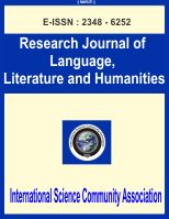 Research Journal of Language, Literature and Humanities